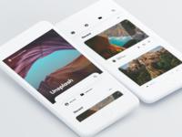 Unsplash Concept - Homepage