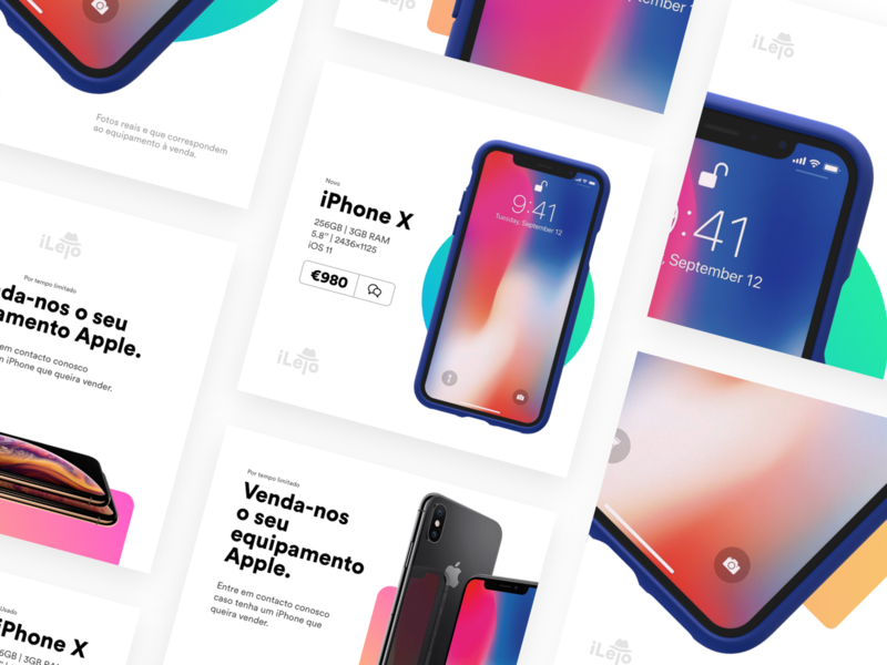 Instagram iPhone store posts by Miguel on Dribbble