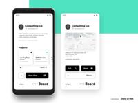 Dashboard - Client Profile - DailyUi 006