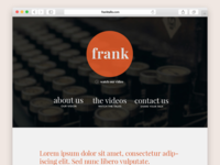 Frank Talks Website Design