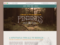 Findings Co. Website