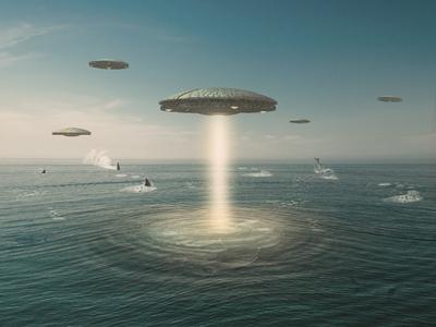 A Sci-fi Photo Composite