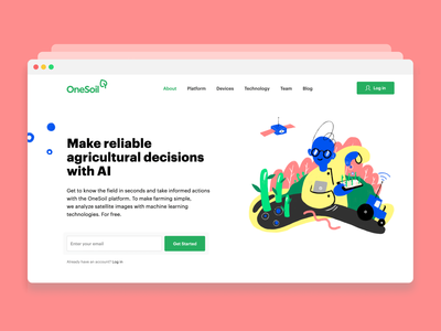 OneSoil – Website