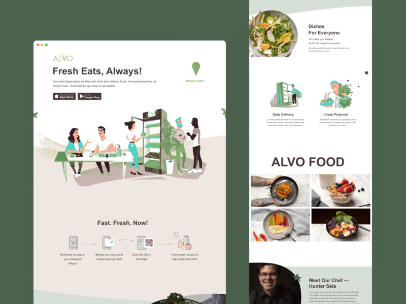 Alvo — Website