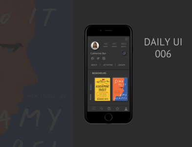 Daily Ui Challenge : Day 6
