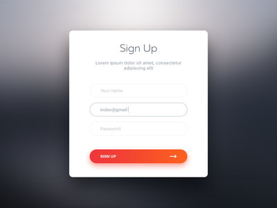 Sign Up 001 sign up daily ui