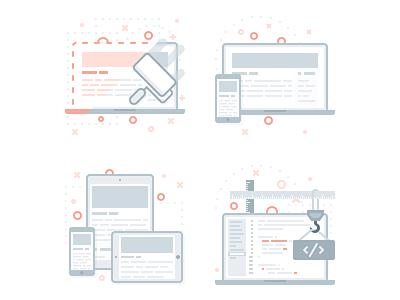 Icon set developer mobile design uiux redesign icon artsurf
