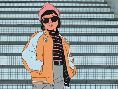 harajuku princess design sketch character japan drawing kpop aesthetic anime illustration