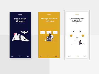 Plover app ux design