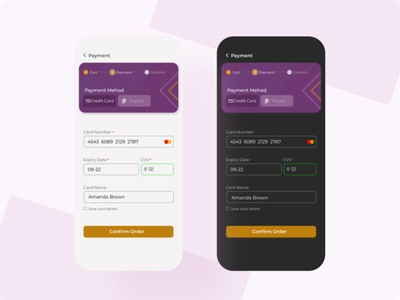 Checkout page - Daily UI 002 banking checkout page minimal design ui ux app