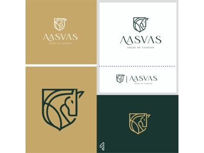 Fashion Brand 'Aasvas' | logo design | famebro vector typography minimal logo design divine branding famebromedia