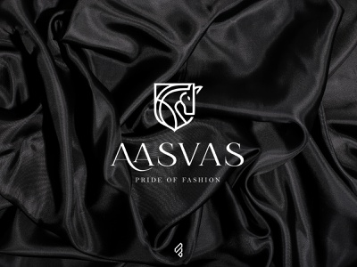 Fashion Brand 'Aasvas' | logo design | famebro logo icon fashion divine design vector typography minimal famebromedia branding