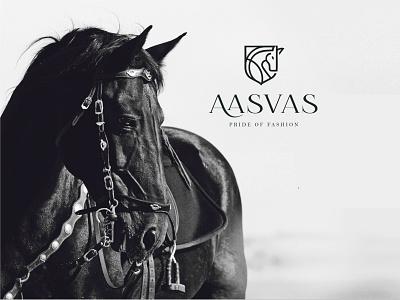 Fashion Brand 'Aasvas' | logo design | famebro logo minimal illustrator illustration icon fashion famebromedia design branding