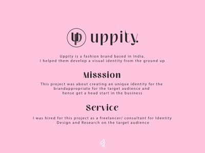 Clothing Brand 'Uppity' | Logo design FameBro Media
