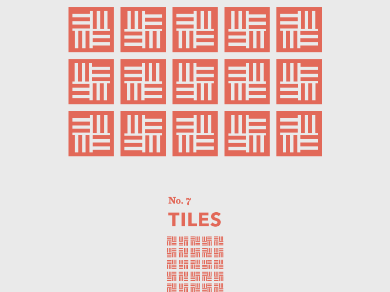 Tiles: No. 7 travel tiles shapes pattern geometric floor abstract
