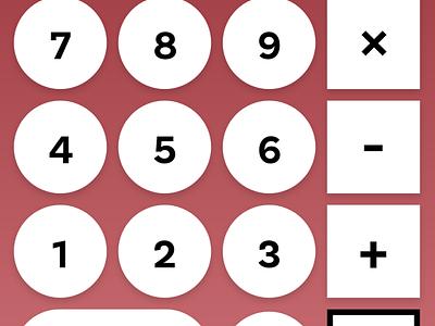 Crunch3r Calculator calculator vector uxui uiux illustration ux design ui dailyui004 dailyuichallenge dailyui