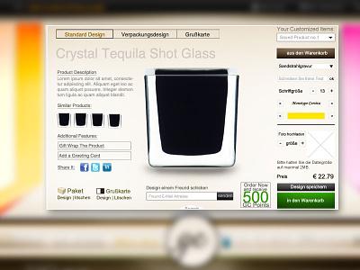 Product Customization | E-commerce product customization e-commerce ux ui redesign