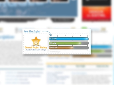 Rating Module project rating interface ui