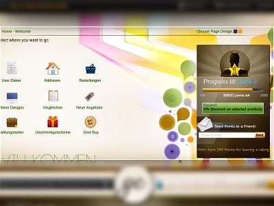 User Dashboard | Ecommerce user dashboard ux ui design clean