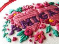 AMIGAS embroidery