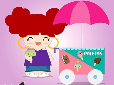 Created a new character for my Hola Mijas Bonitas! cute illustration vector fun