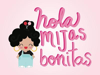 Cute Logo! Hola Mijas Bonitas