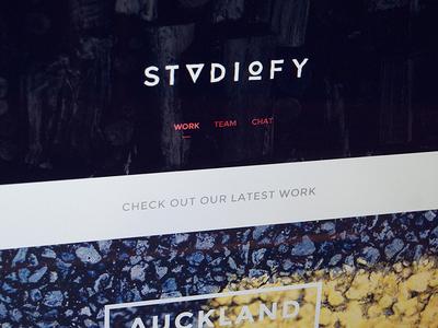 Studiofy Homepage