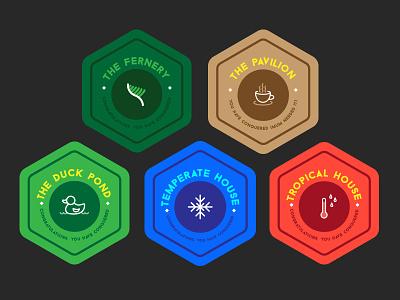 Badges kids badges icons wintergardens game epub web ui