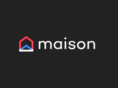 Maison house maison logo branding