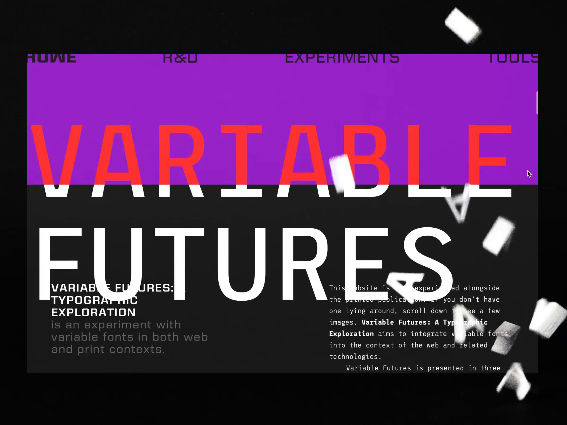 Variable futures
