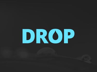 Drop dribbble
