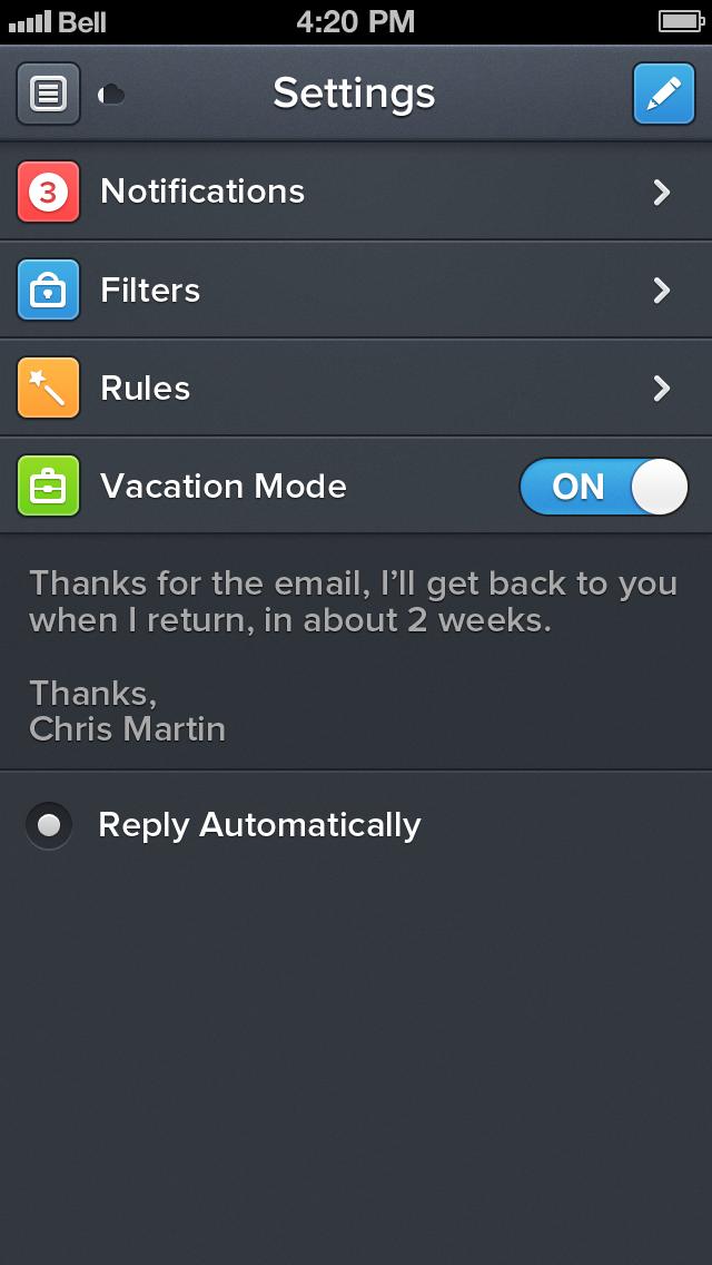 Edit settings 5