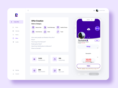 Bellr [2017 - 2019] web ux ui design