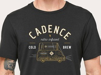 Cadence Tap Van Tour Tee