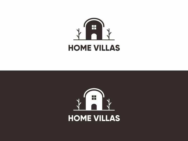 Home Villas Logo Design colorful logo business logo monogram logo modern logo minimalist logo logo design logo flat logo brand identity graphic design
