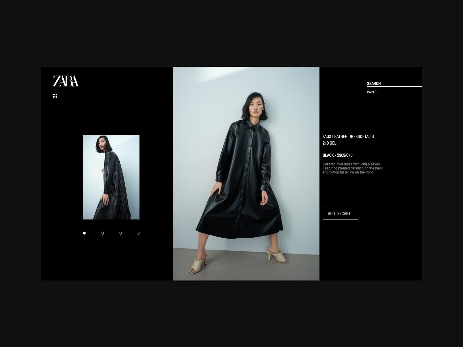 Zara Ecommerce Web By Tako Samkharadze On Dribbble