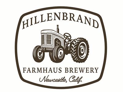 Hillebrand Farmhaus Brewery branding logo