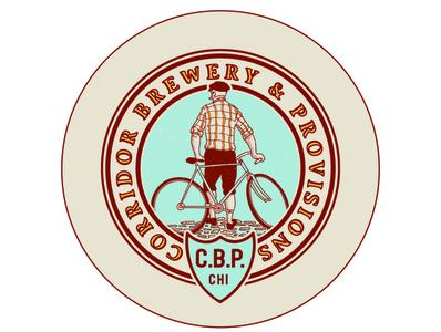 Corridor Brewery & Provisions logo branding