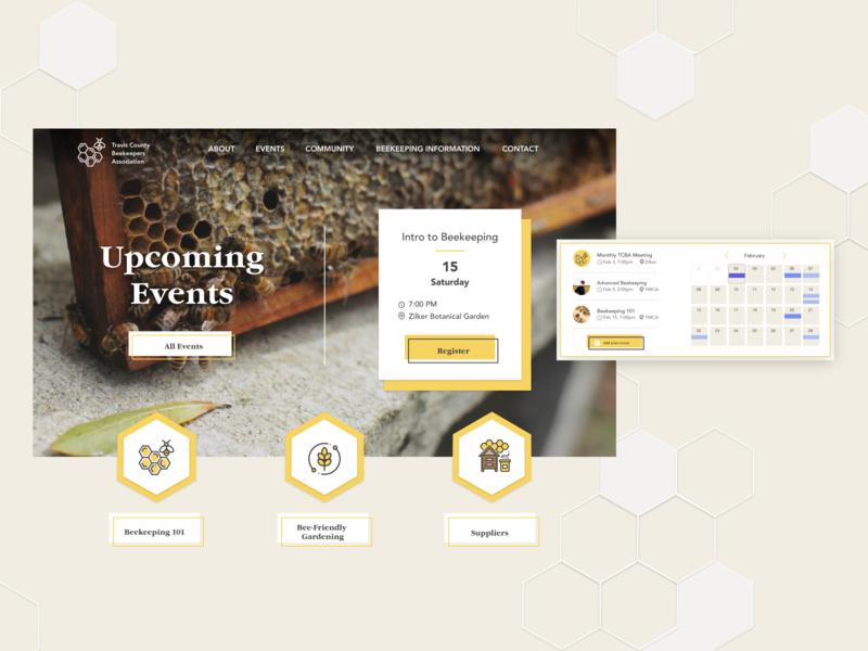Beekeepers Website Redesign
