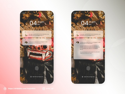 Make A Notifications UI/UX Design branding app web modern website dailyuichallenge dailyui mobile app design design ux ui
