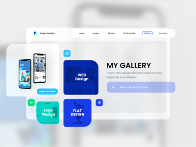 Daily UI Day 053 (Header Navigation) modern neomorphism web mobile app design dailyui branding dailyuichallenge website design ux ui