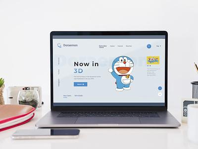 Doraemon mockups html css webdesigner webdeveloper website uxdesigner uidesigner interaction user interface design wireframe uxdesign userinterface uidesign inspiration animation uiux graphicdesign design ux ui