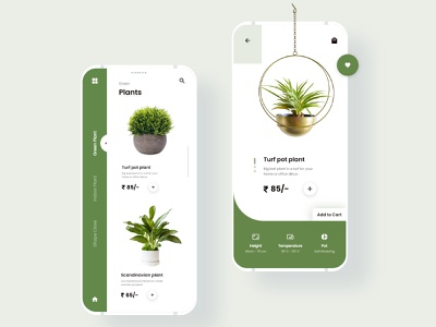 Pots theme color mockups websites interaction mobile application uxdesigner uidesigner wireframe uxdesign userinterface uidesign inspiration animation uiux graphicdesign design ux ui