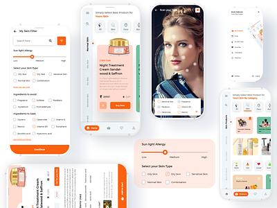 Skin_Care webdevelopers productdesign color webdeveloper website uxdesigner uidesginer application mobile wireframe userinterface uidesign interaction inspiration animation uiux graphicdesign design ux ui