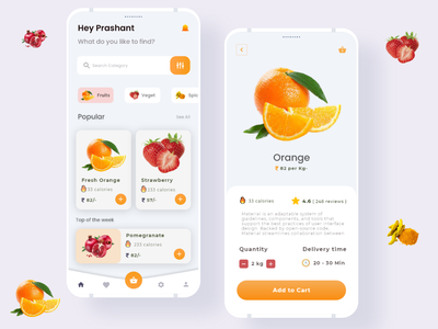 MFruits applicaiton color webdesigner webdeveloper website uxdesigner uidesigner application mockups wireframe uxdesign userinterface uidesign inspiration animation uiux graphicdesign design ux ui