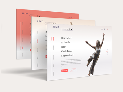 ABCD application uxdesigner uidesigner theme color webdesigner webdeveloper website mockups wireframe uxdesign userinterface uidesign inspiration animation uiux graphicdesign design ux ui