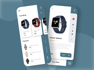 SmartWatch App UI app typography android app minimal design dailyui uiux ui waterproof watches classic watches smartwatch watch