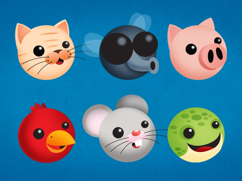 adopta animals icon draw ui design mx ilustración illustration