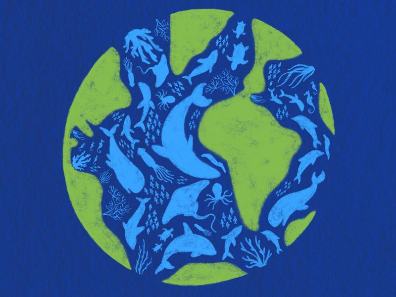 Mission Blue - Sylvia Earle Alliance ocean web blog matrushka mx draw ilustración illustration
