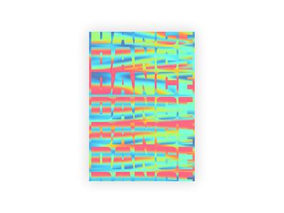 DANCE: Underground Music Fest typography graphic design art direction branding design